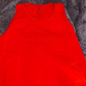 fruit of the loom red tank top